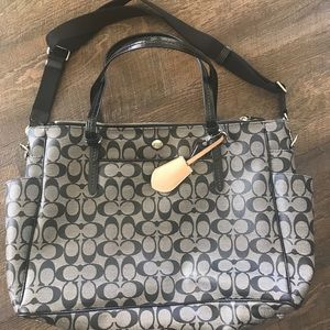 Coach Diaper Tote Bag